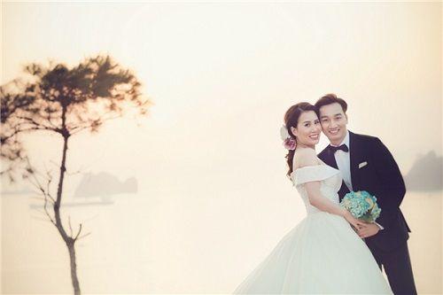 Bộ ảnh cưới lãng mạn MC Thành Trung và bạn gái 9x ở Quảng Ninh - Ảnh 12