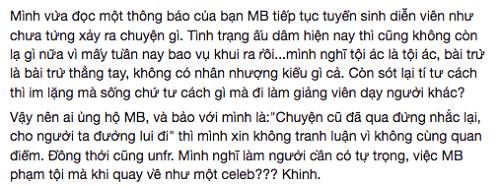 Khán giả phẫn nộ vì Minh Béo làm giảng viên, mở lớp đào tạo tài năng trẻ - Ảnh 3