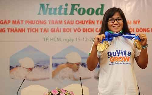 Nutifood thưởng 2000 USD cho Phương Trâm sau giải vô địch nhóm tuổi Đông Nam Á  - Ảnh 4