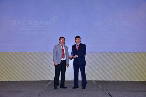 """BAC A BANK """"thắng kép"""" tại Vietnam Outstanding Banking Awards 2016 - Ảnh 5"""