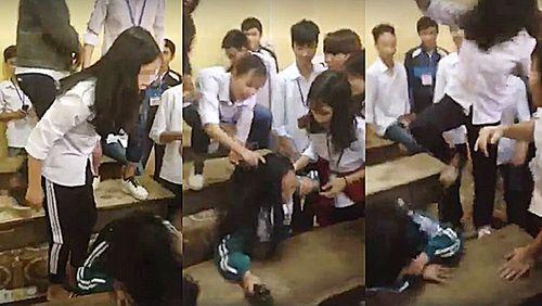 Quay clip đánh bạn tung lên mạng: Gieo rắc bạo lực đến trường - Ảnh 1