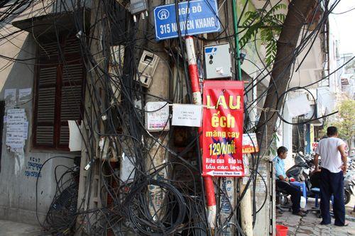 Chùm ảnh: Quảng cáo, rao vặt lem nhem khắp Thủ đô - Ảnh 5