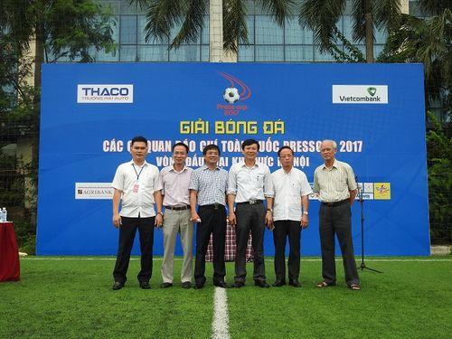 Khai mạc giải bóng đá các cơ quan Báo chí toàn quốc Press Cup 2017 tại Hà Nội - Ảnh 3