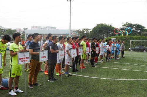Khai mạc giải bóng đá các cơ quan Báo chí toàn quốc Press Cup 2017 tại Hà Nội - Ảnh 7