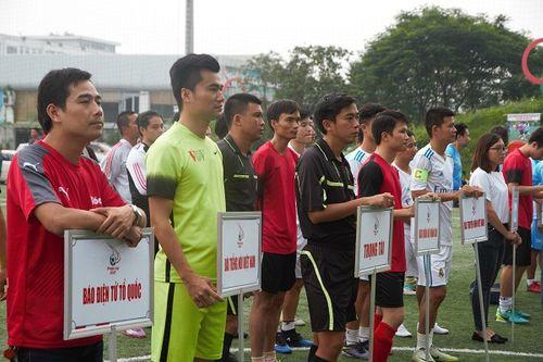 Khai mạc giải bóng đá các cơ quan Báo chí toàn quốc Press Cup 2017 tại Hà Nội - Ảnh 6