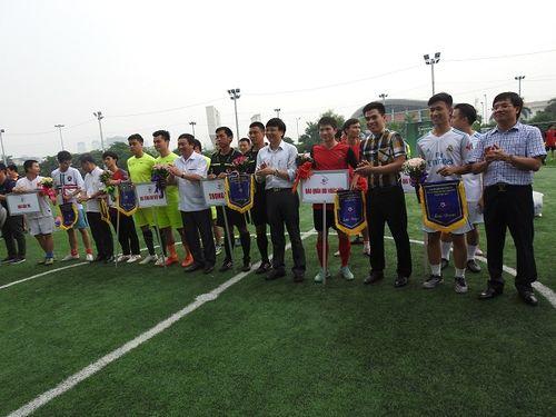 Khai mạc giải bóng đá các cơ quan Báo chí toàn quốc Press Cup 2017 tại Hà Nội - Ảnh 10