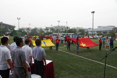 Khai mạc giải bóng đá các cơ quan Báo chí toàn quốc Press Cup 2017 tại Hà Nội - Ảnh 4