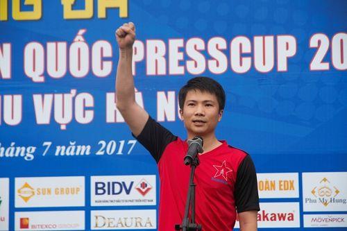 Khai mạc giải bóng đá các cơ quan Báo chí toàn quốc Press Cup 2017 tại Hà Nội - Ảnh 9