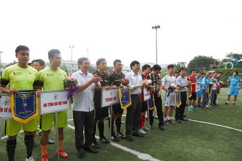 Khai mạc giải bóng đá các cơ quan Báo chí toàn quốc Press Cup 2017 tại Hà Nội - Ảnh 11