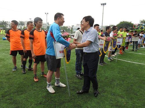 Khai mạc giải bóng đá các cơ quan Báo chí toàn quốc Press Cup 2017 tại Hà Nội - Ảnh 13