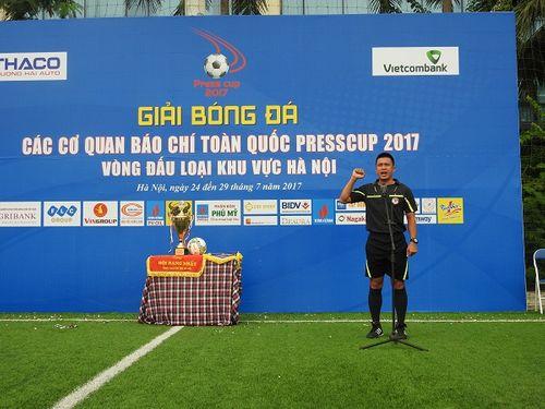 Khai mạc giải bóng đá các cơ quan Báo chí toàn quốc Press Cup 2017 tại Hà Nội - Ảnh 8