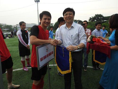 Khai mạc giải bóng đá các cơ quan Báo chí toàn quốc Press Cup 2017 tại Hà Nội - Ảnh 12