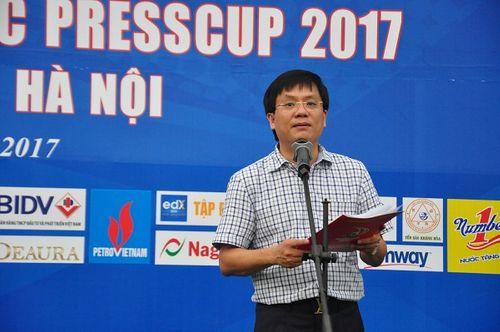 Khai mạc giải bóng đá các cơ quan Báo chí toàn quốc Press Cup 2017 tại Hà Nội - Ảnh 1