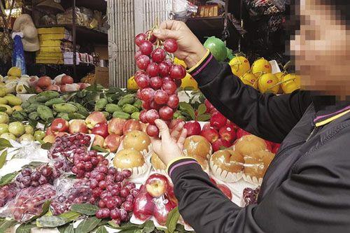 Hoa quả Trung Quốc: Dùng sáp sinh học bọc ngoài có hại? - Ảnh 1