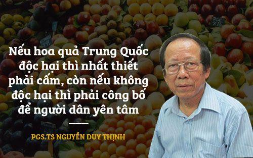 Hoa quả Trung Quốc: Dùng sáp sinh học bọc ngoài có hại? - Ảnh 2