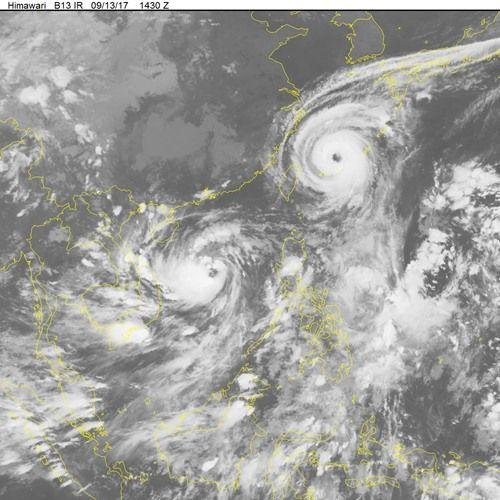Thời tiết 14/9: Ảnh hưởng bão số 10, nhiều vùng mưa to, gió giật mạnh - Ảnh 1