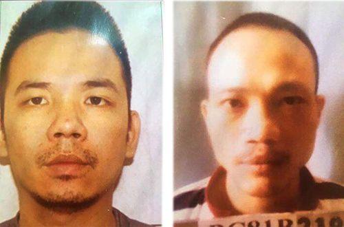 Công an Hà Nội truy tìm 2 tử tù nguy hiểm trốn khỏi phòng biệt giam - Ảnh 1