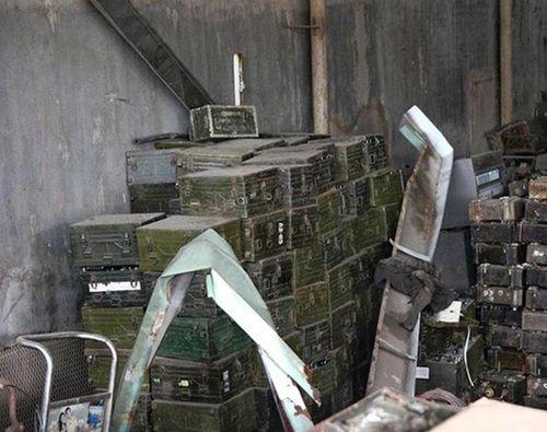 Toàn cảnh vụ nổ khiến kho phế liệu nghiêm trọng ở Bắc Ninh - Ảnh 8