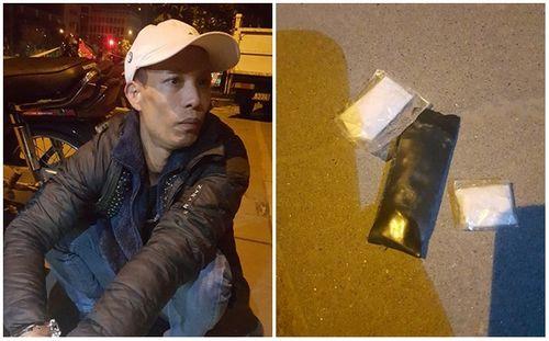 Hà Nội: Kiểm tra hành chính phát hiện nhiều đối tượng mang ma túy - Ảnh 1