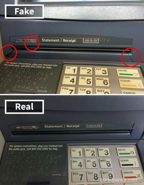 """Những cách đánh cắp mật khẩu ATM cực """"dị"""" trên thế giới - Ảnh 5"""