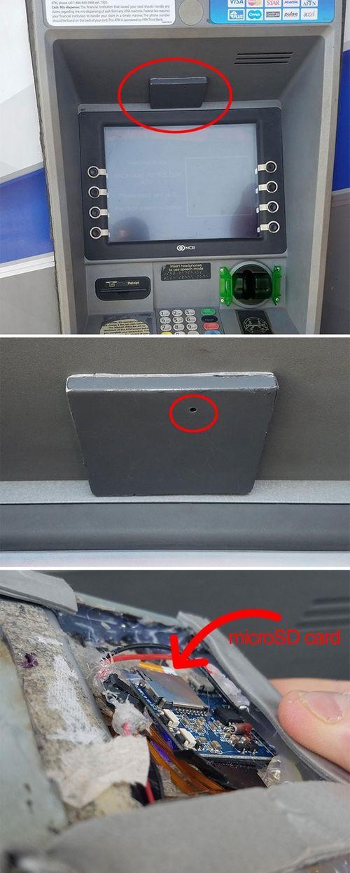 """Những cách đánh cắp mật khẩu ATM cực """"dị"""" trên thế giới - Ảnh 6"""
