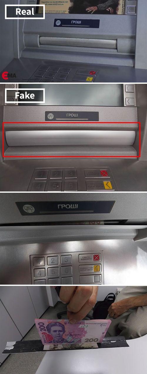 """Những cách đánh cắp mật khẩu ATM cực """"dị"""" trên thế giới - Ảnh 9"""