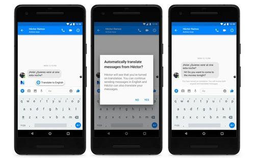 Facebook Messenger sắp có tính năng dịch tự động - Ảnh 1