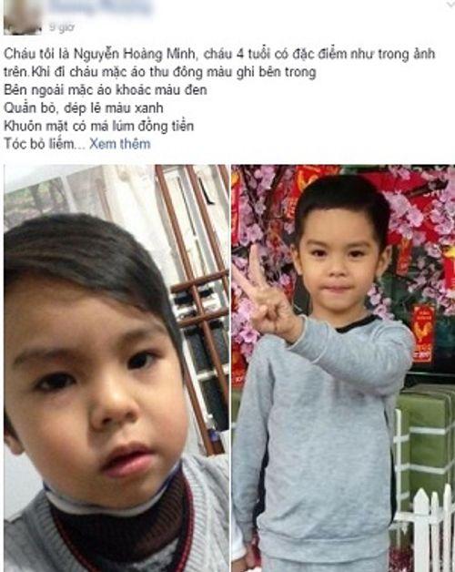 Nghi án bé trai 5 tuổi bị bắt cóc trước quán ăn của gia đình ngày cận Tết - Ảnh 1
