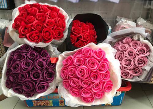 Hoa hồng sáp - Nơi bán sỉ hoa hồng sáp giá rẻ tại tp hcm