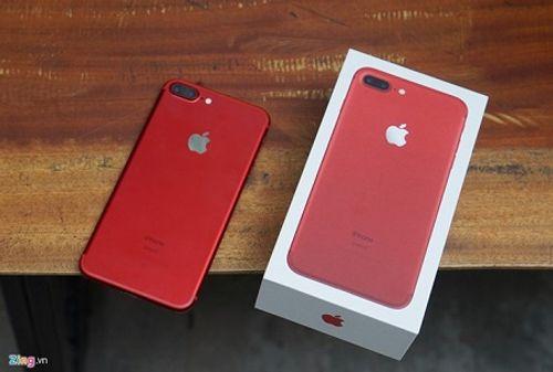 iPhone 7 màu đỏ chính hãng lên kệ ngày 6/4 giá từ 20,9 triệu đồng - Ảnh 1