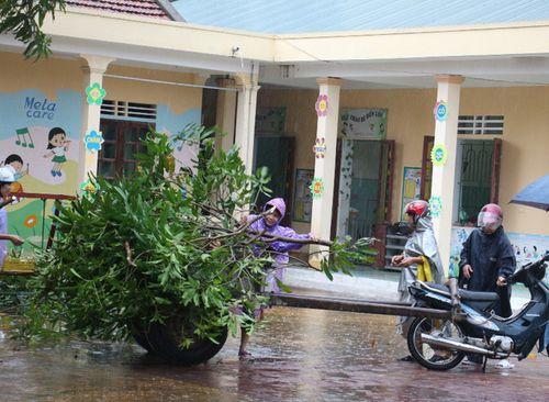 Bão số 10 giật cấp 15 đổ bộ Hà Tĩnh- Quảng Bình - Ảnh 9