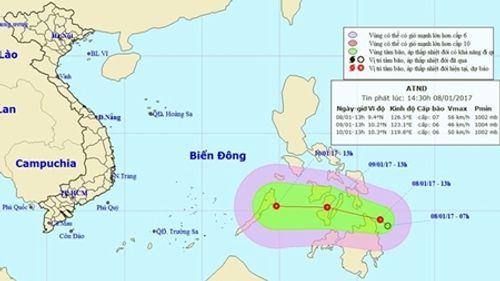 Áp thấp nhiệt đới sắp vào Biển Đông, miền Bắc chuẩn bị đón không khí lạnh - Ảnh 1