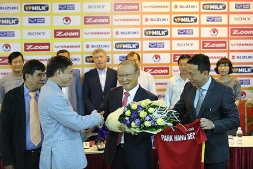 HLV Park Hang Seo chính thức trở thành tân thuyền trưởng tuyển Việt Nam - Ảnh 1