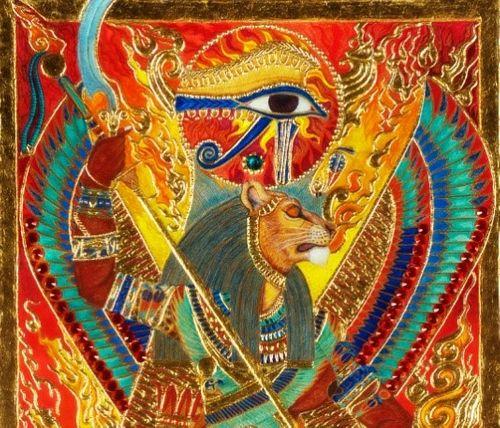 """Sekhmet - Nữ thần Ai Cập cổ và """"ma cà rồng đầu tiên của thế giới"""" - Ảnh 1"""