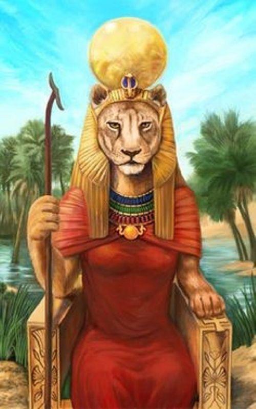 """Sekhmet - Nữ thần Ai Cập cổ và """"ma cà rồng đầu tiên của thế giới"""" - Ảnh 3"""