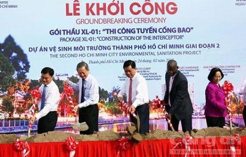 TP Hồ Chí Minh khởi công tuyến cống bao 85 triệu USD  - Ảnh 1
