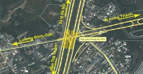 TP HCM kiến nghị xây hầm chui 1.000 tỷ đồng ở nút giao An Phú - Ảnh 1