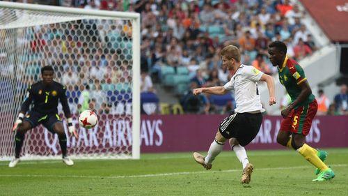 Hạ gục Cameroon, Đức gặp Mexico ở bán kết  - Ảnh 1