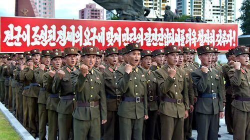 Gần 3,5 triệu người Triều Tiên đăng ký nhập ngũ  - Ảnh 1
