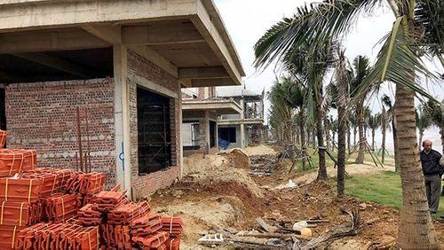 Đà Nẵng: Phát hiện 26 biệt thự xây dựng không giấy phép - Ảnh 1