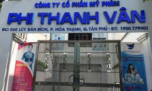 Công ty mỹ phẩm Phi Thanh Vân sắp bị kiểm tra thuế - Ảnh 1