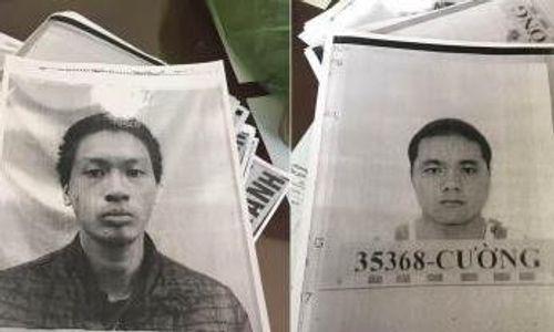 Truy bắt 2 đối tượng bị tạm giam trốn khỏi bệnh viện - Ảnh 1