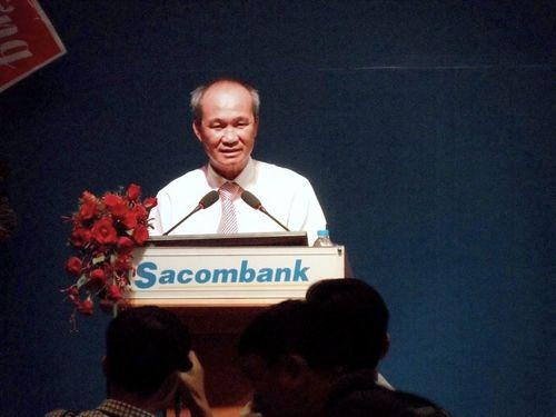 Ông Dương Công Minh không mua thêm được 1 triệu cổ phiếu Sacombank - Ảnh 1