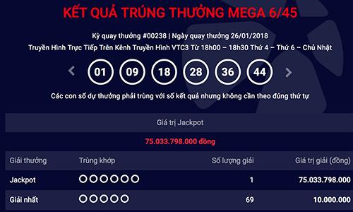 Bất ngờ trúng Jackpot 75 tỷ đồng ngay trước trận chung kết U23 Việt Nam - Ảnh 1