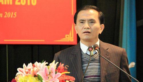Công bố quyết định kỷ luật Phó Chủ tịch UBND tỉnh Thanh Hóa - Ảnh 1