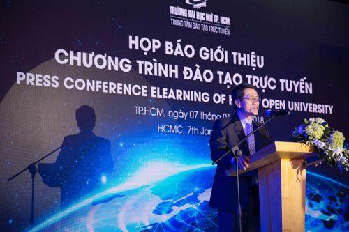 Trường ĐH Mở TP. HCM giới thiệu chương trình đào tạo trực tuyến - Ảnh 1