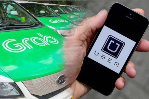 Đề xuất xe Uber, Grab phải dán logo  - Ảnh 1