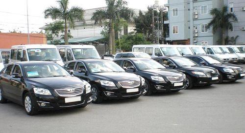Đấu giá công khai ô tô công trong diện thanh lý - Ảnh 1