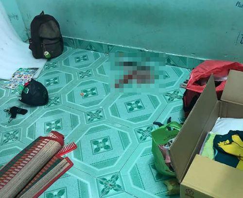 Nghi án người phụ nữ bị chém gục trong nhà trọ tại Bình Dương - Ảnh 1