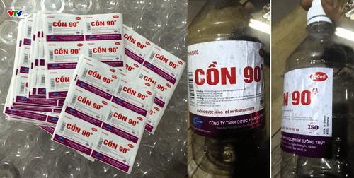 Giật mình phát hiện các nhà thuốc bán cồn y tế độc hại cho người dùng - Ảnh 1